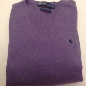 POLO BY RALPH LAUREN PRIMA COTTON SWEATER.